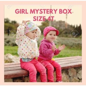 Other - GIRL MYSTERY BOX 4T